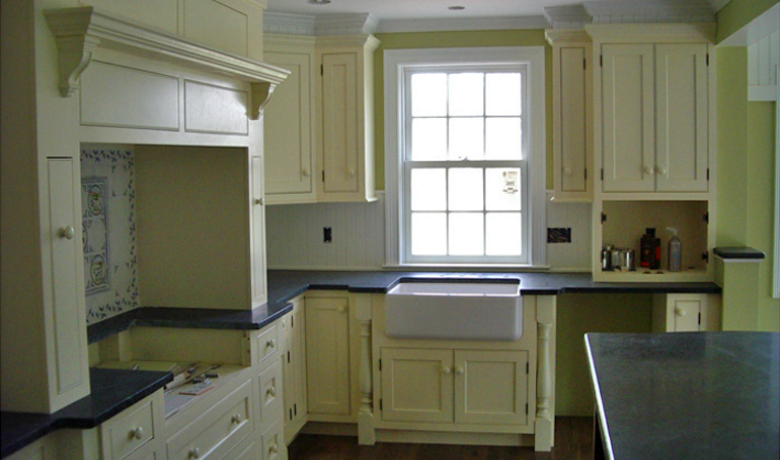 1808 Farmhouse kitchen pickell architecture