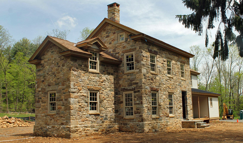 Pickell Architecture, stone house