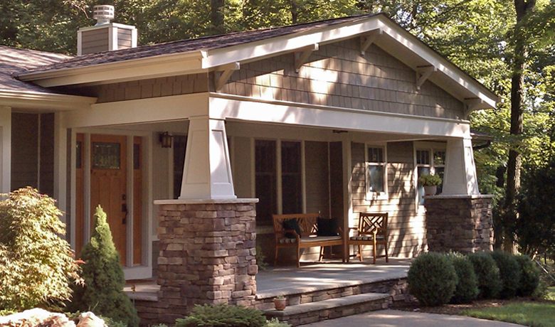 Pickell Architecture, craftsman renovation, Bridgewater, NJ