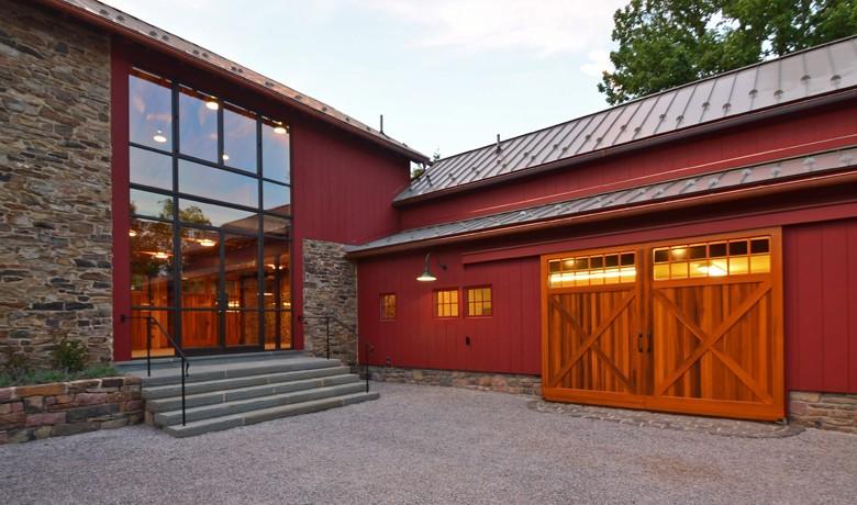 Pickell Architecture, barn and pool complex, Hunterdon County