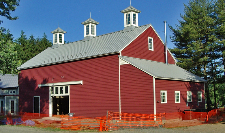 Charles Fish Barn, Howell Living History Farm, Pickell Architecture