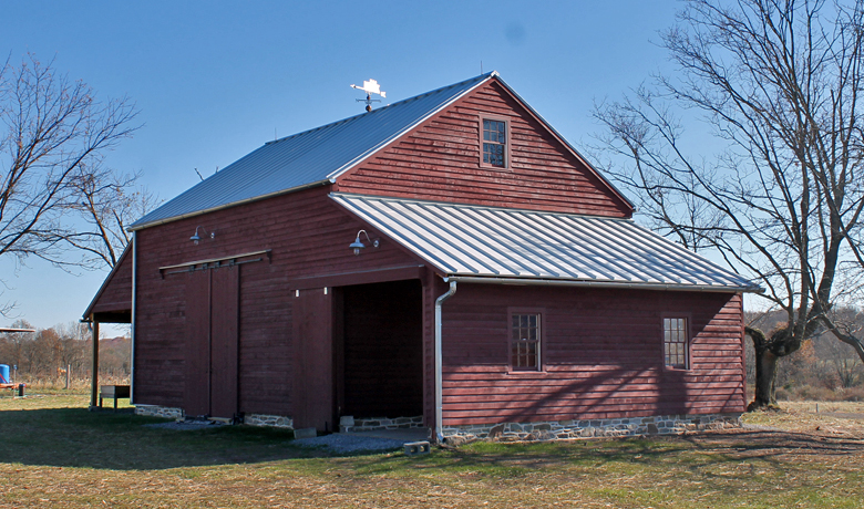 Pickell Architecture, McColm Barn, D&R Greenway