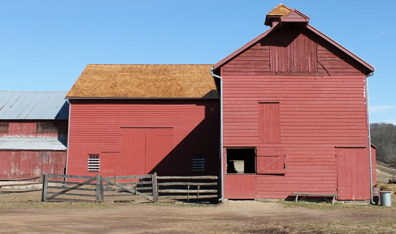 Phillips Barn, Howell Living History Farm, Pickell Architecture