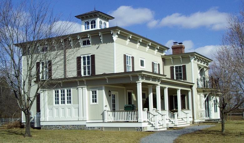 Pickell Architecture, Italianate farmhouse, Hillsborough, NJ