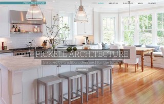 Pickell Architecture, website